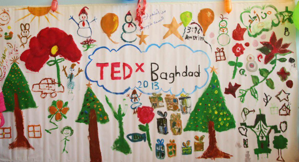 TEDxBaghdad 2013 - Drawn by the hands of the children
